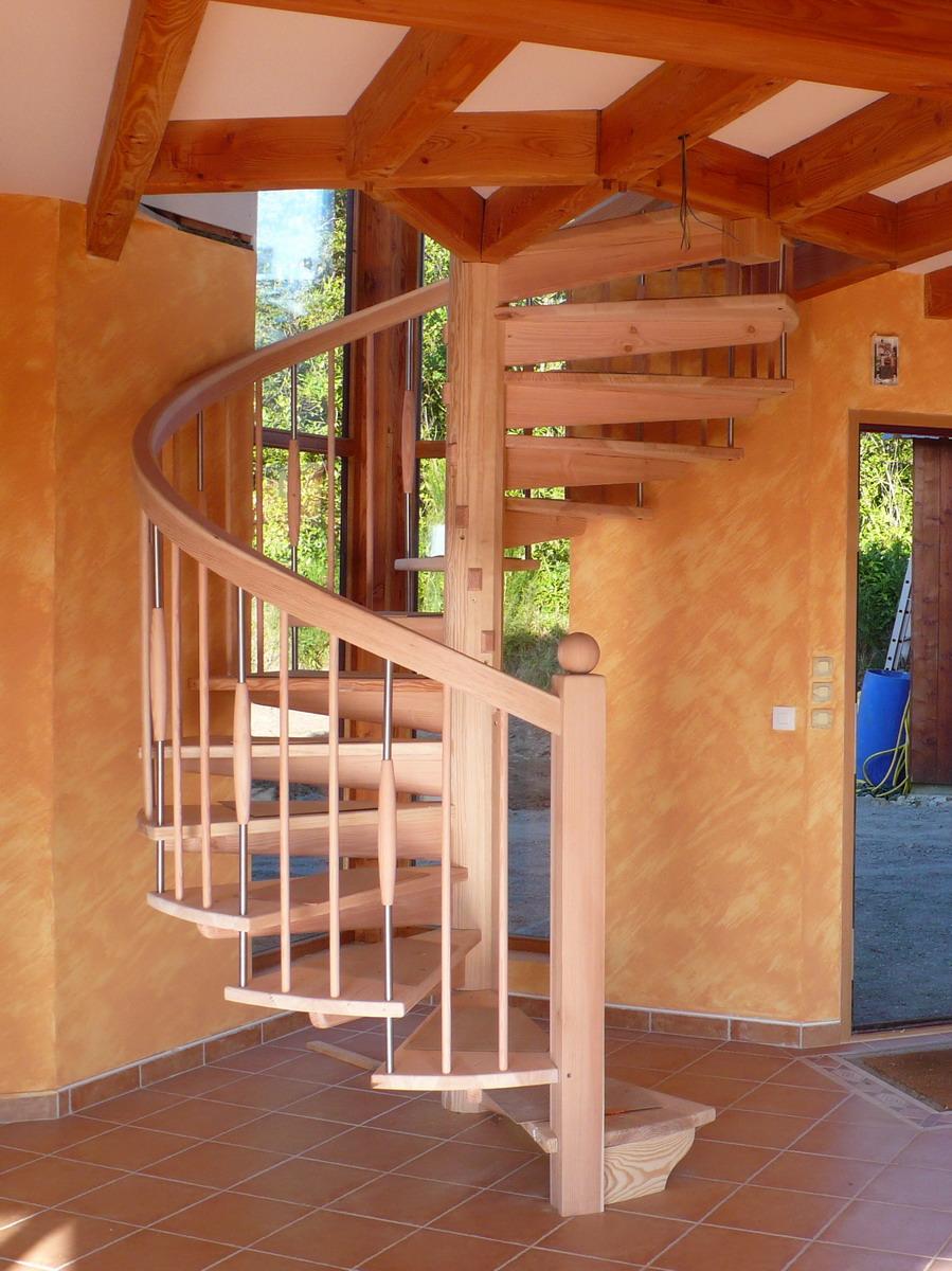 escalier 224 poteau central l atelier du tregor